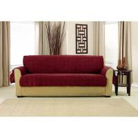 Shop Sure Fit Deep Pile Velvet Sofa Furniture Protector ...