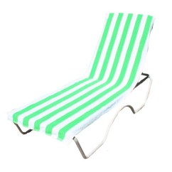 Beach Chair Cover Cloth Office Chairs Shop J M Home Fashions Lounge Towel With Amp Pocket 26