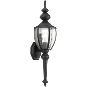 Progress Lighting  P5767-31 Roman Coach One Light Wall Lantern. Can be used with or without tail.
