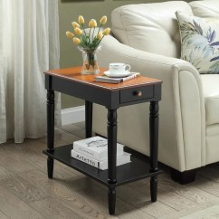 Chair Side Tables Canada Reclining Patio Chairs Shop Copper Grove Lantana Wooden Chairside Table On Sale Ships