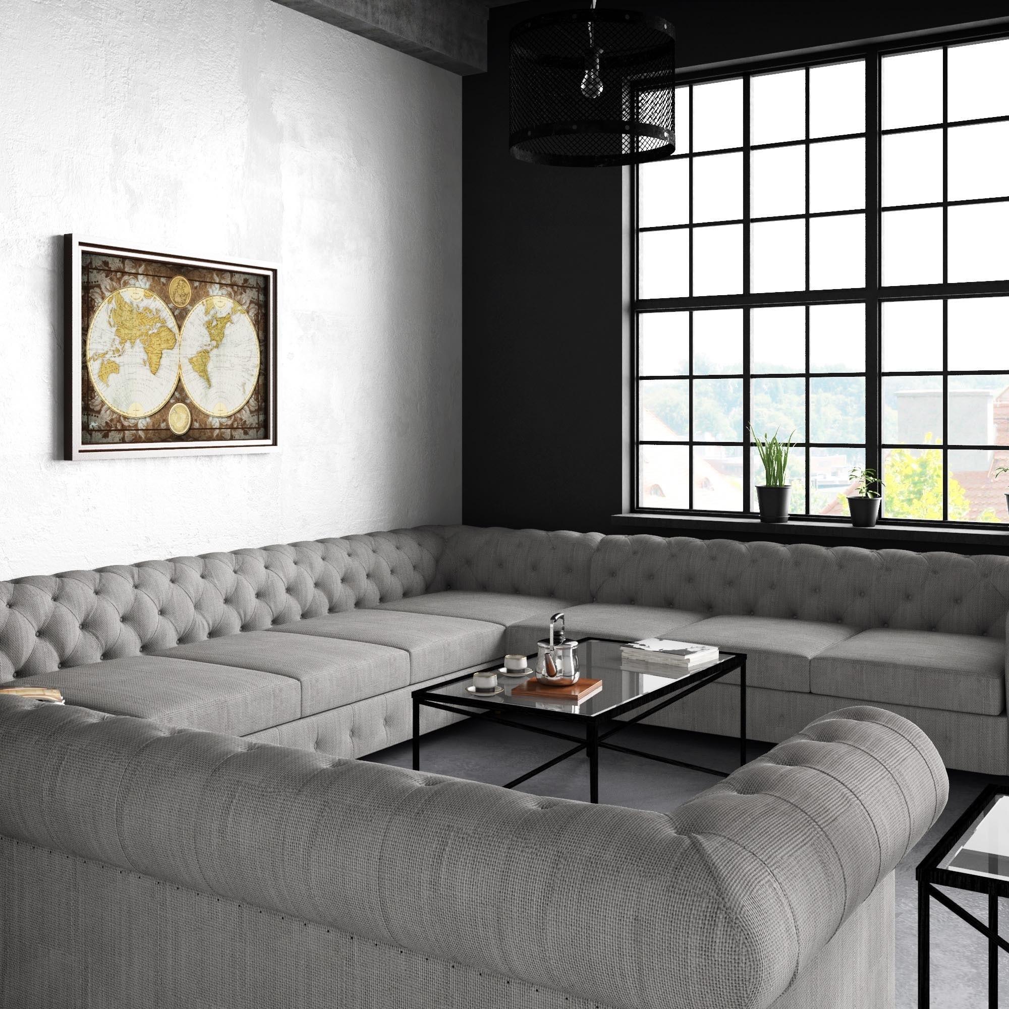 bay sofa harris tweed sofas scotland moser furniture garcia tufted linen u shaped sectional ebay