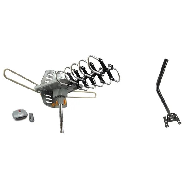 Shop Outdoor Amplified HDTV/ UHF/ VHF Antenna 360-degree