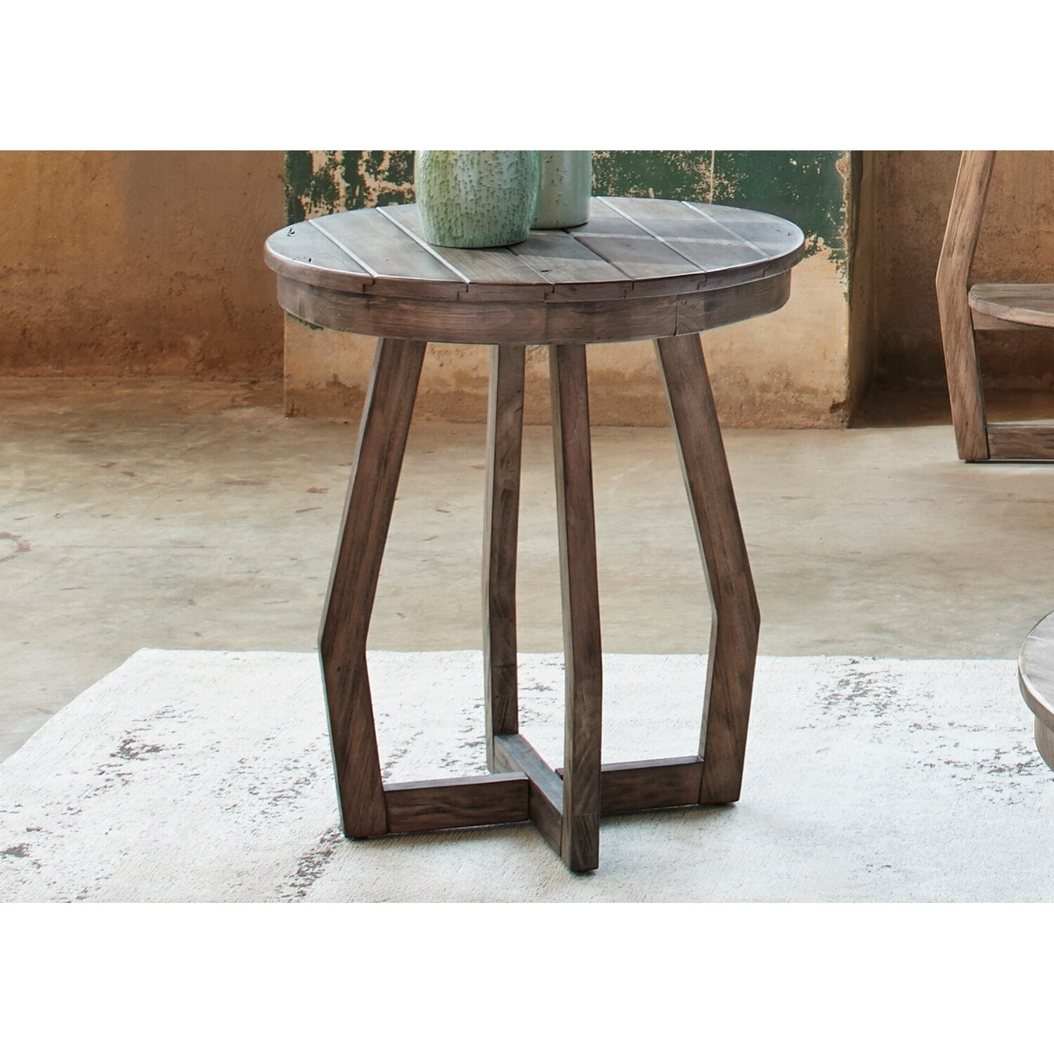 gray chair side table hydro massage pine canopy redwood wash round ebay