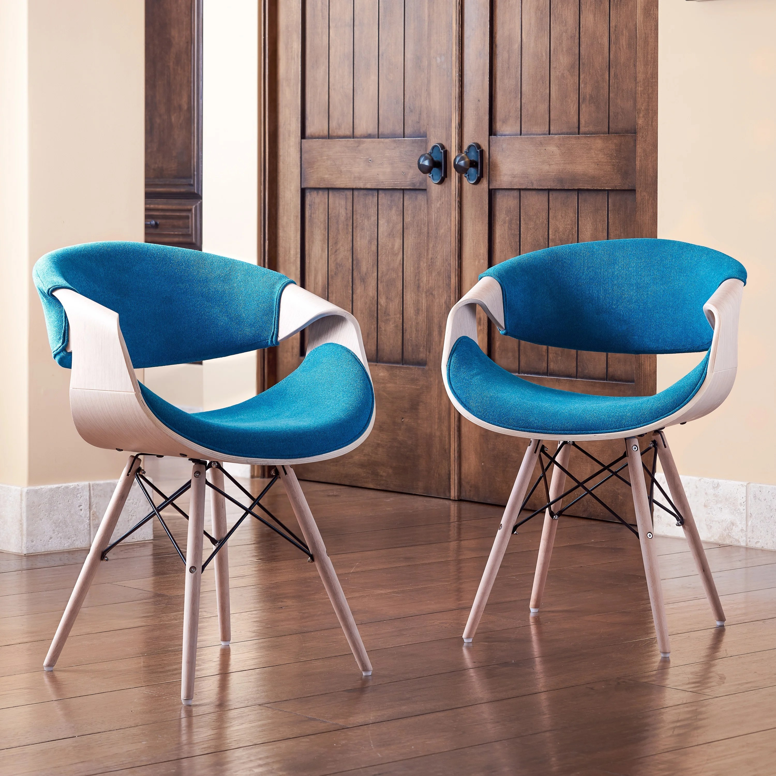 teal colored chairs electric chair for stairs shop corvus adams contemporary blue accent free shipping on orders over 45 overstock com 12189525