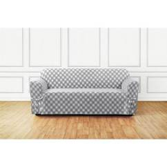 Buffalo Check Sofa Cover Roma Table Shop Sure Fit Slipcover Free Shipping Today