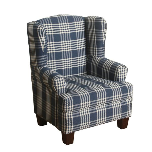 toddler wingback chair hanging frame nz homepop anderson junvenile - free shipping today overstock.com 19063955