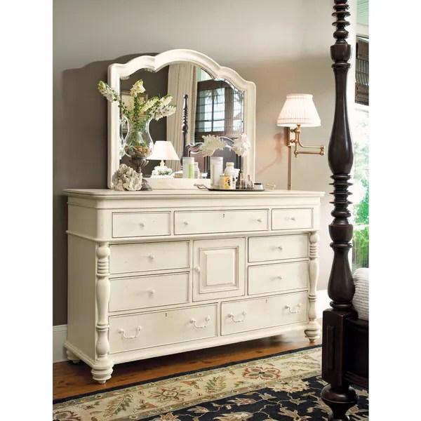 Shop Paula Deen Home Door White Linen Dresser Free