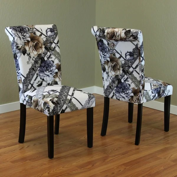 Printed Dining Room Chairs
