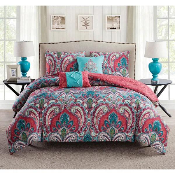 VCNY Casa Real Reversible Comforter Set  Free Shipping