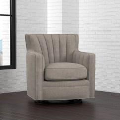 Overstock Arm Chair Swing Baby Shop Oliver James Farocki Dove Grey Linen Free Amp