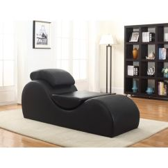 Tantra Chair For Sale Savannah's Cover Rentals & Events Shop Faux Leather Yoga & Stretch Relax Chaise - On Free Shipping Today Overstock.com ...