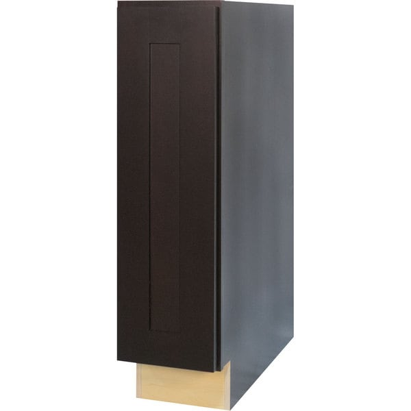 Shop Everyday Cabinets 9 Inch Dark Espresso Shaker Full Height Door