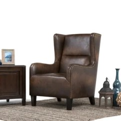 Leather Wingback Chairs Wooden Camp Chair Plans Buy Living Room Online At Overstock Com Our Best Furniture Deals