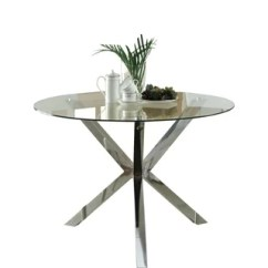 Kitchen Glass Table Diy Outdoor Buy Dining Room Tables Online At Overstock Com Our Coaster Company Chrome Top