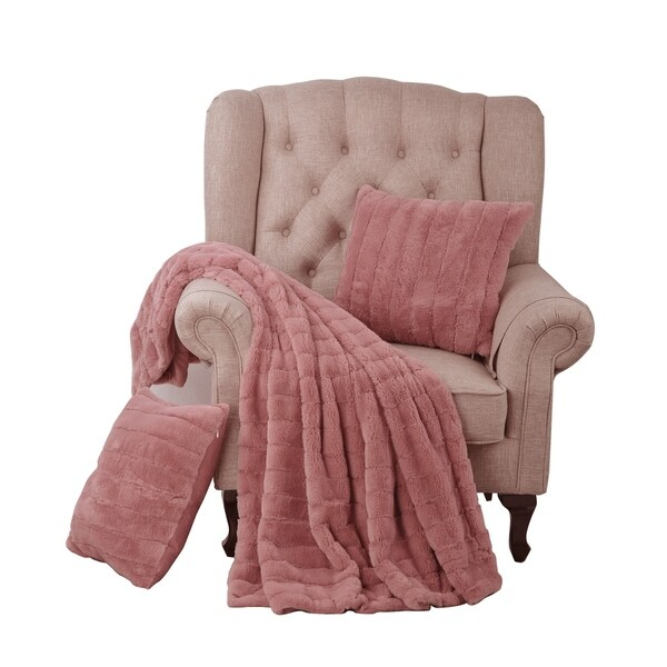pink blankets throws find