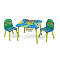 Ninja Turtles Chair Wheelchair Jump Oh Shoot Shop Nickelodeon Teenage Mutant Table Set With Amp Storage Multi