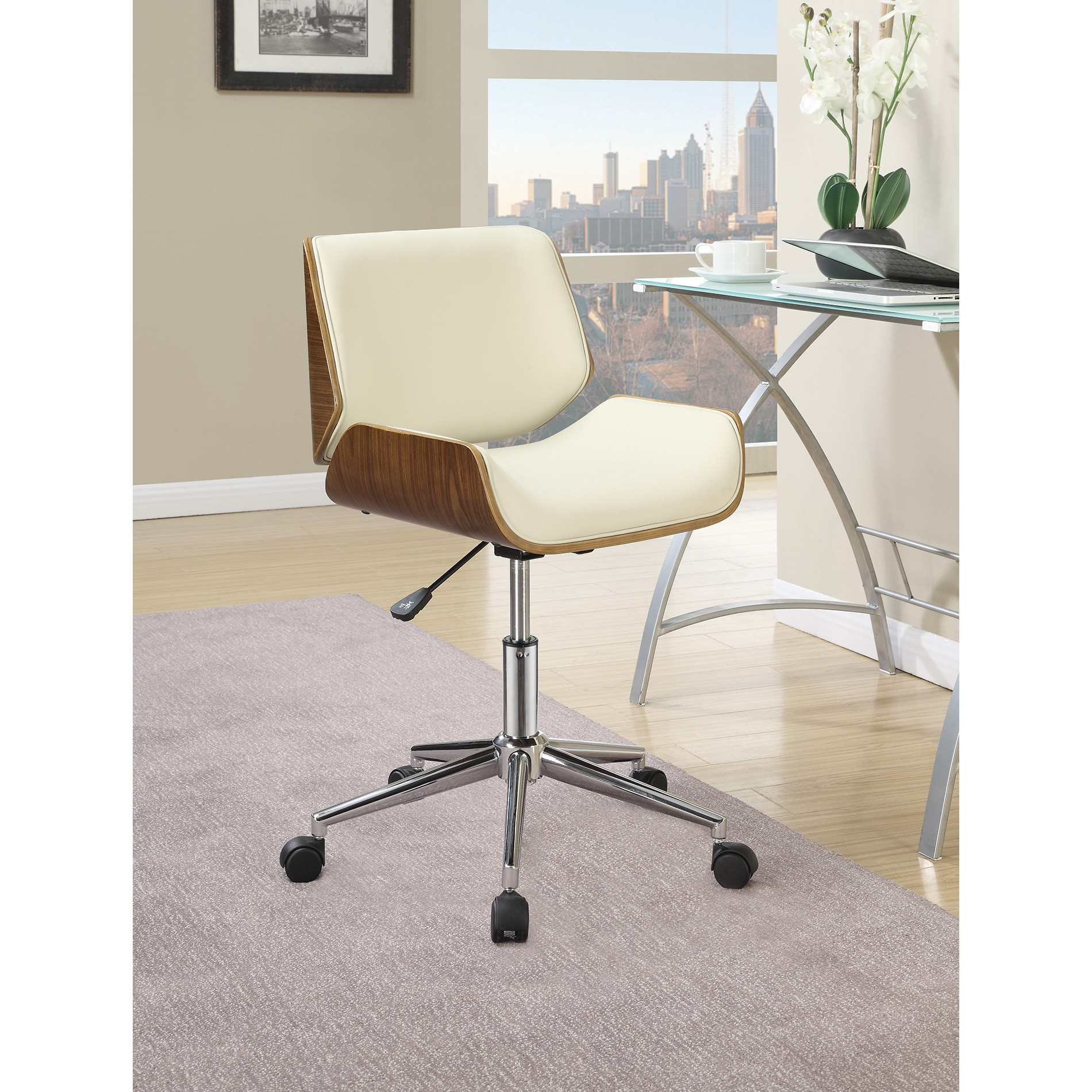 office chair overstock pet high shop palm canyon chico white free shipping on orders over 45 com 12369413