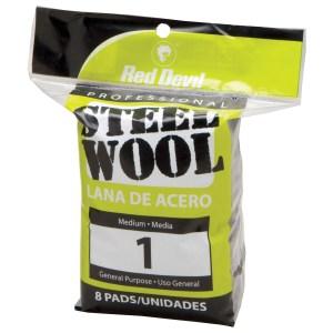Red Devil 0324 #1 Steel Wool 8 Pack
