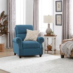 Blue Recliner Chair Swivel Hire Shop Clay Alder Home Pope Street Prolounger Caribbean