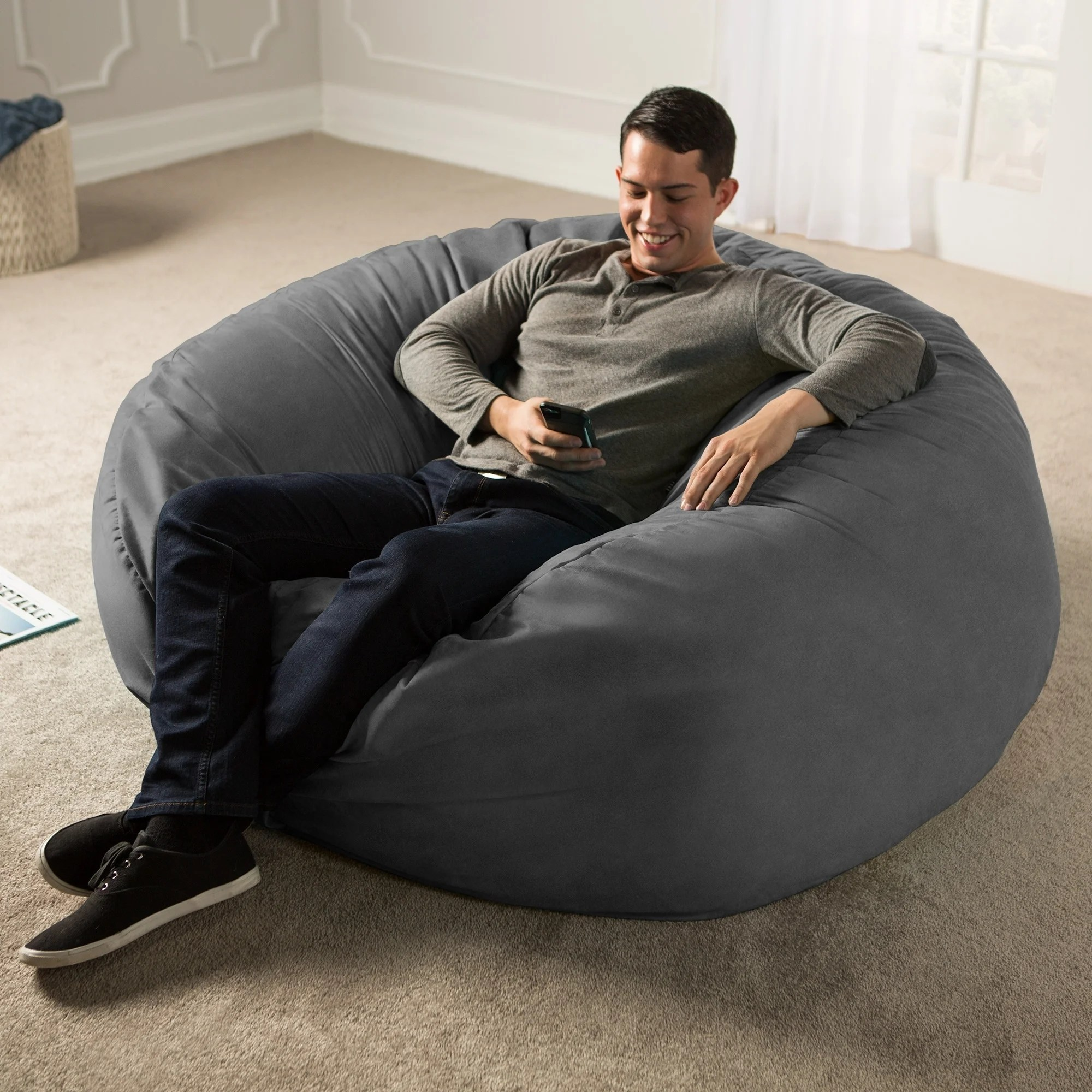 Love Sac Bean Bag Chair Buy Size Extra Large Kids Bean Bag Chairs Online At Overstock