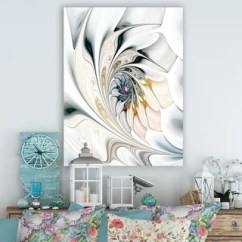 Large Canvas Art For Living Room Grey And Yellow Decorating Ideas Gallery Shop Our Best Home Goods Deals Online At Overstock Com White Stained Glass Floral Wall