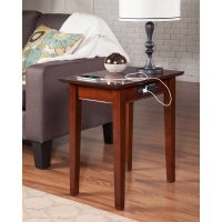 Sofa Table With Power Outlet | Baci Living Room