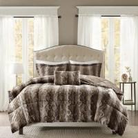 Madison Park Marselle Faux Fur Comforter Set - Free ...