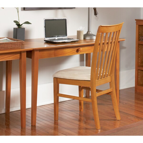 harvard chair for sale slingback patio chairs shop atlantic furniture shaker caramel latte wood desk with drawer