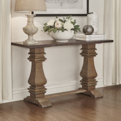 Sale Sofa Tables Sectional Sofas Best Quality Shop Voyager Wood And Zinc Balustrade Console Table By Inspire Q Artisan