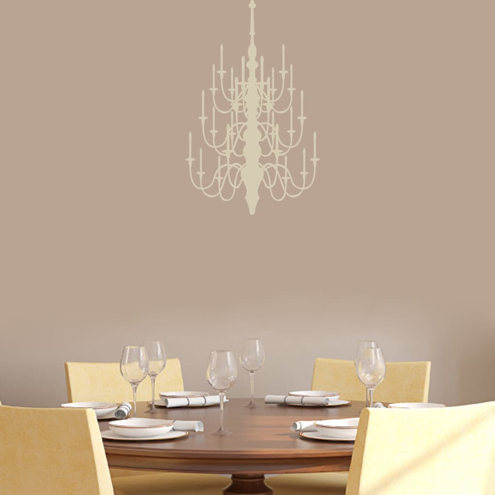 Chandelier' 15 x 24-inch Wall Decals