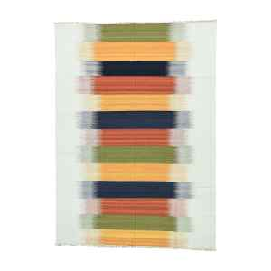 Multicolor Wool Flatweave Reversible Hand-woven Durie Kilim Area Rug (9' x 12'6) - Multi