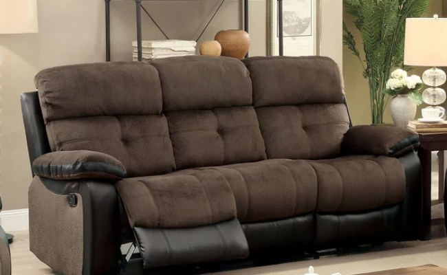 Shop Furniture Of America Ferg Contemporary Brown Fabric