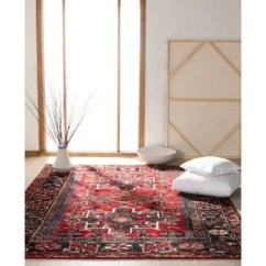 Red Rugs For Living Room Indian False Ceiling Designs Buy Area Online At Overstock Our Best Deals Quick View