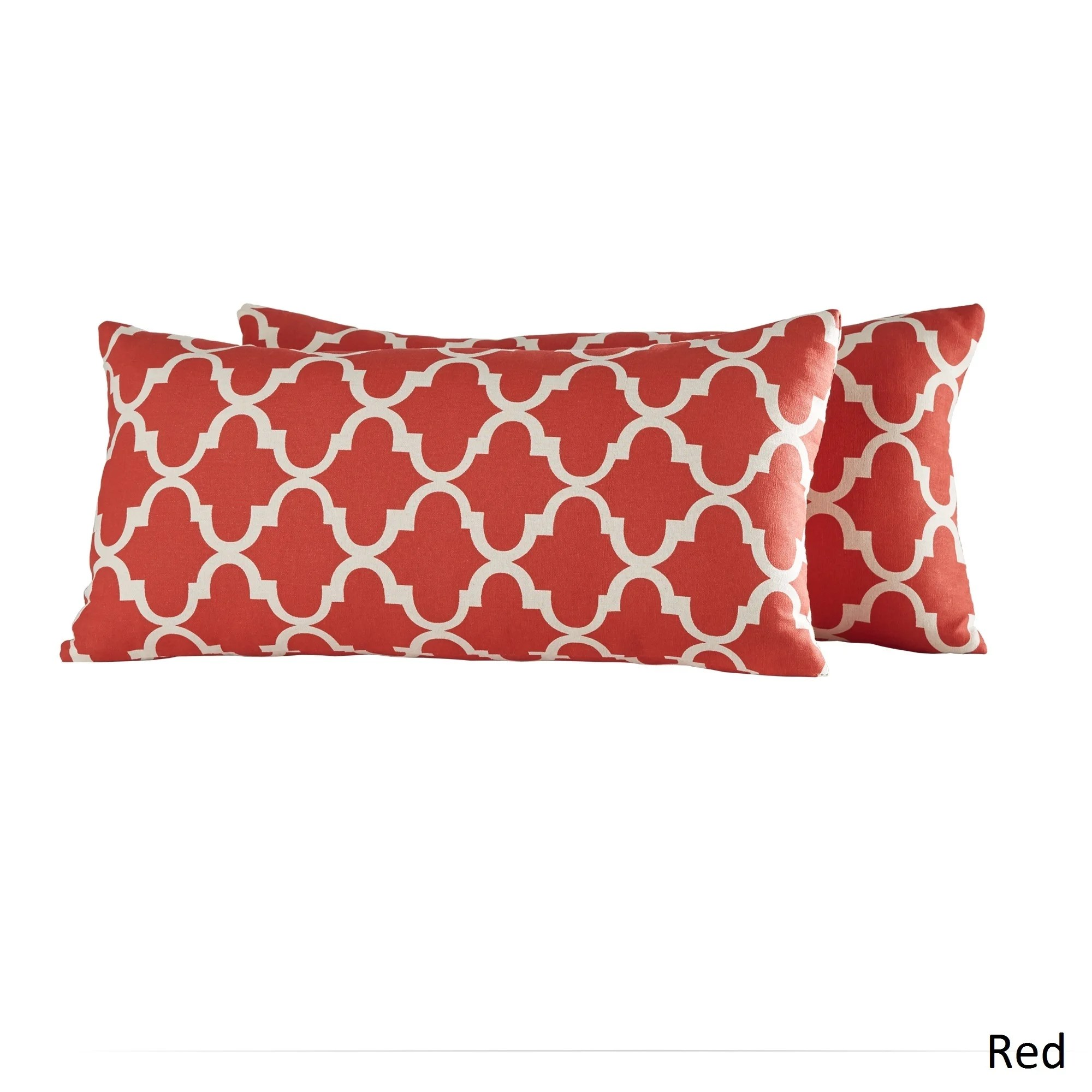 red sofa pillows how to make your own chair rectangle throw pillow tyres2c