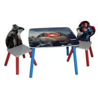 'Batman vs Superman: Dawn of Justice' Wooden Table and ...