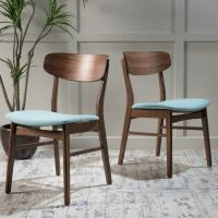 Shop Christopher Knight Fabric-upholstered Wood Dining ...