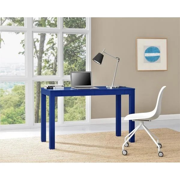xl desk chair office mechanism shop ameriwood home parsons blue with 2 drawers free