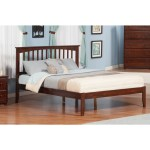 Shop Atlantic Mission Walnut Wood Queen Platform Bed On Sale Overstock 12777349