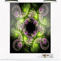 Shop Green and Purple Large Fractal Flower