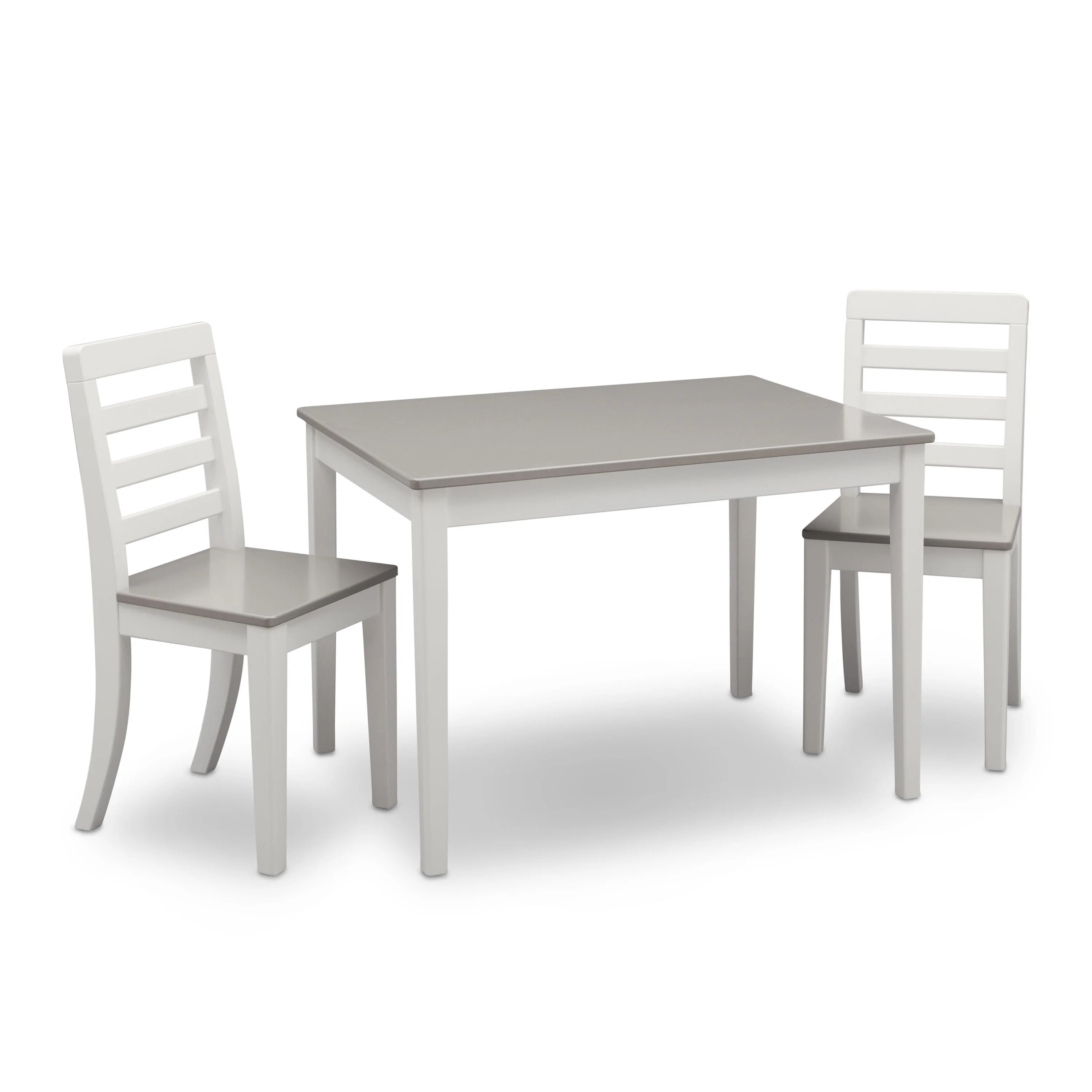 delta children 3 piece table and chairs set