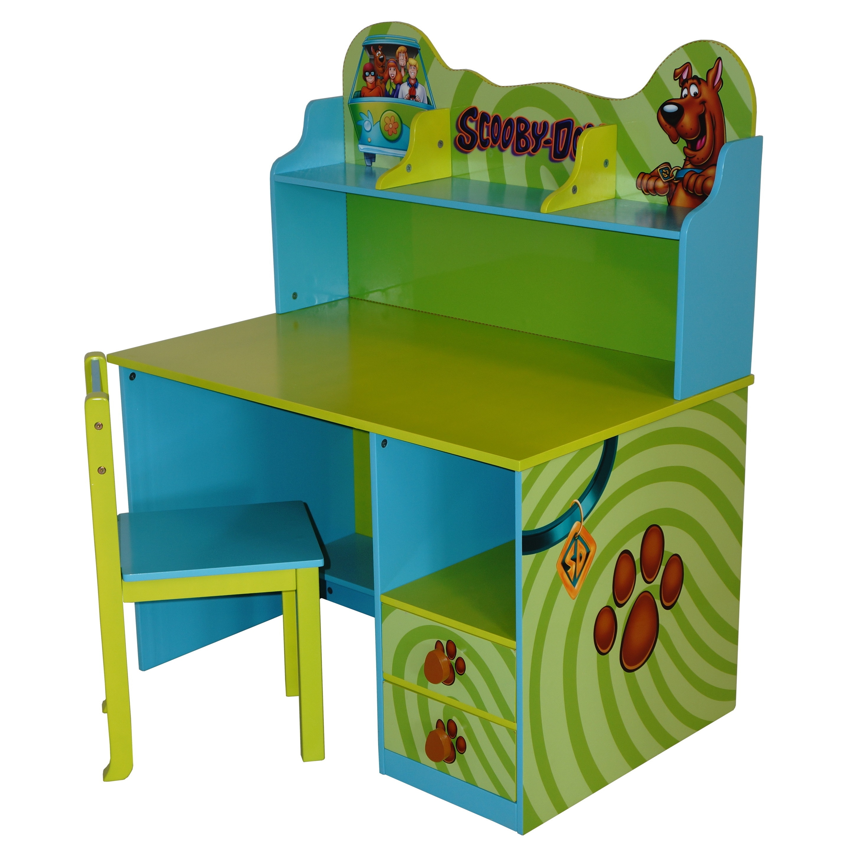scooby doo chair royal throne chairs for sale o 39kids kids 39 green mdf writing desk and