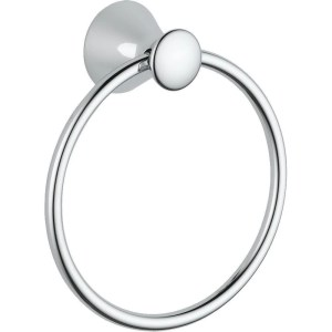 Delta Lahara Towel Ring in Chrome 73846