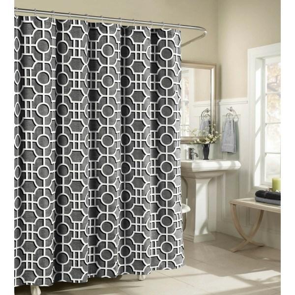 Luxury Fabric Shower Curtain
