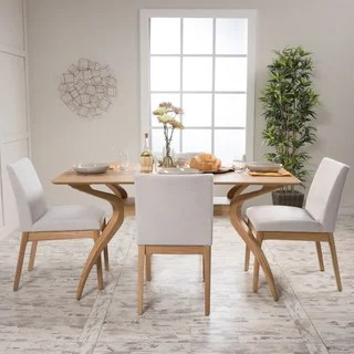 kitchen table sets kart buy dining room online at overstock com our best kwame mid century 5 piece rectangle set by christopher knight home