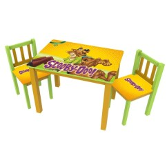 Scooby Doo Chair 1940 Wooden High Shop O Kids Large Table And Chairs Set Free Shipping Today Overstock Com 12914689