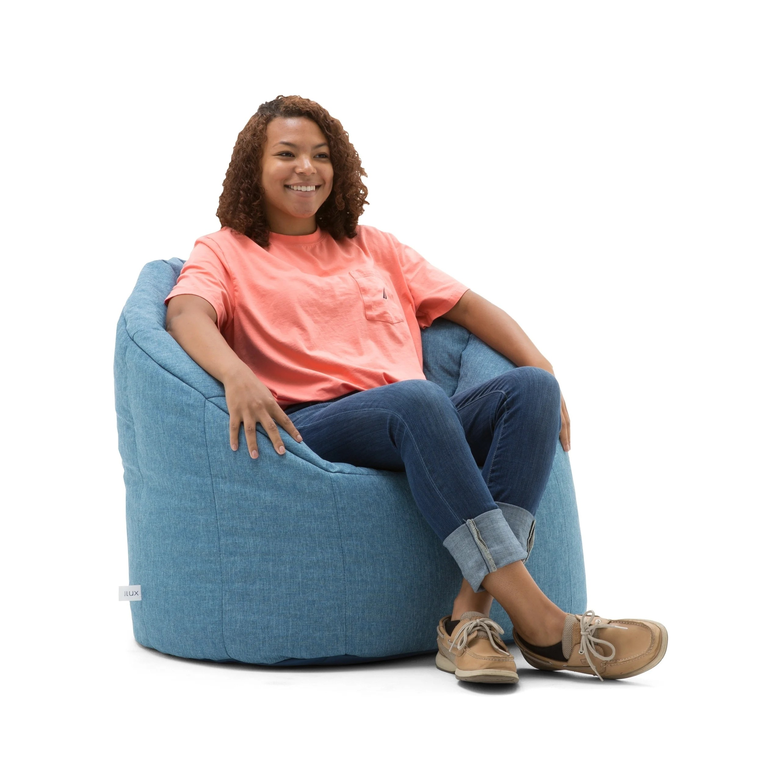 Big Joe Milano Chair Big Joe Lux Union Milano Bean Bag Chair Multiple Colors