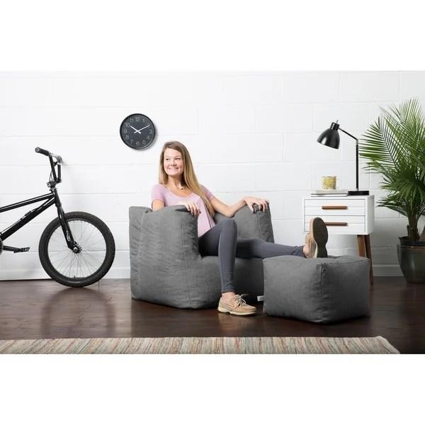 big joe roma lounge chair high heel shoe with storage large relax playroom bean bag seat kids comfort dorm furniture