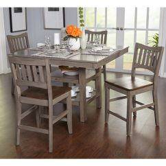 Pub Table And Chairs 3 Piece Set 2 Swivel Chair Kitchen Simple Living Simon Counter Height 5-piece Dining - Free Shipping Today Overstock.com ...