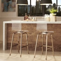 iNSPIRE Q Miles Clear Acrylic Swivel Bar Stools (Set of 2 ...