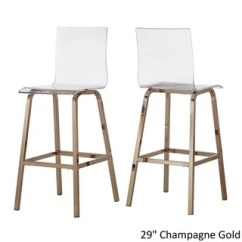 Ghost Chair Bar Stool Lucia Rattan Kmart Buy Clear Counter Stools Online At Overstock Com Our Best Dining Room Furniture Deals